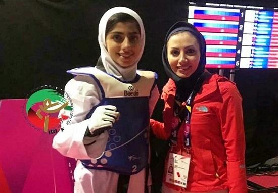 دختر شایسته ایرانی به مدال نقره جهان رسید
