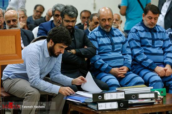 سومین جلسه رسیدگی به اتهامات هادی رضوی +عکس