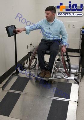 تردمیل معلولان هم ساخته شد+عکس