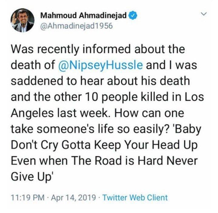 سوال جنجالی احمدی نژاد در توئیتر باز هم سوژه شد +عکس