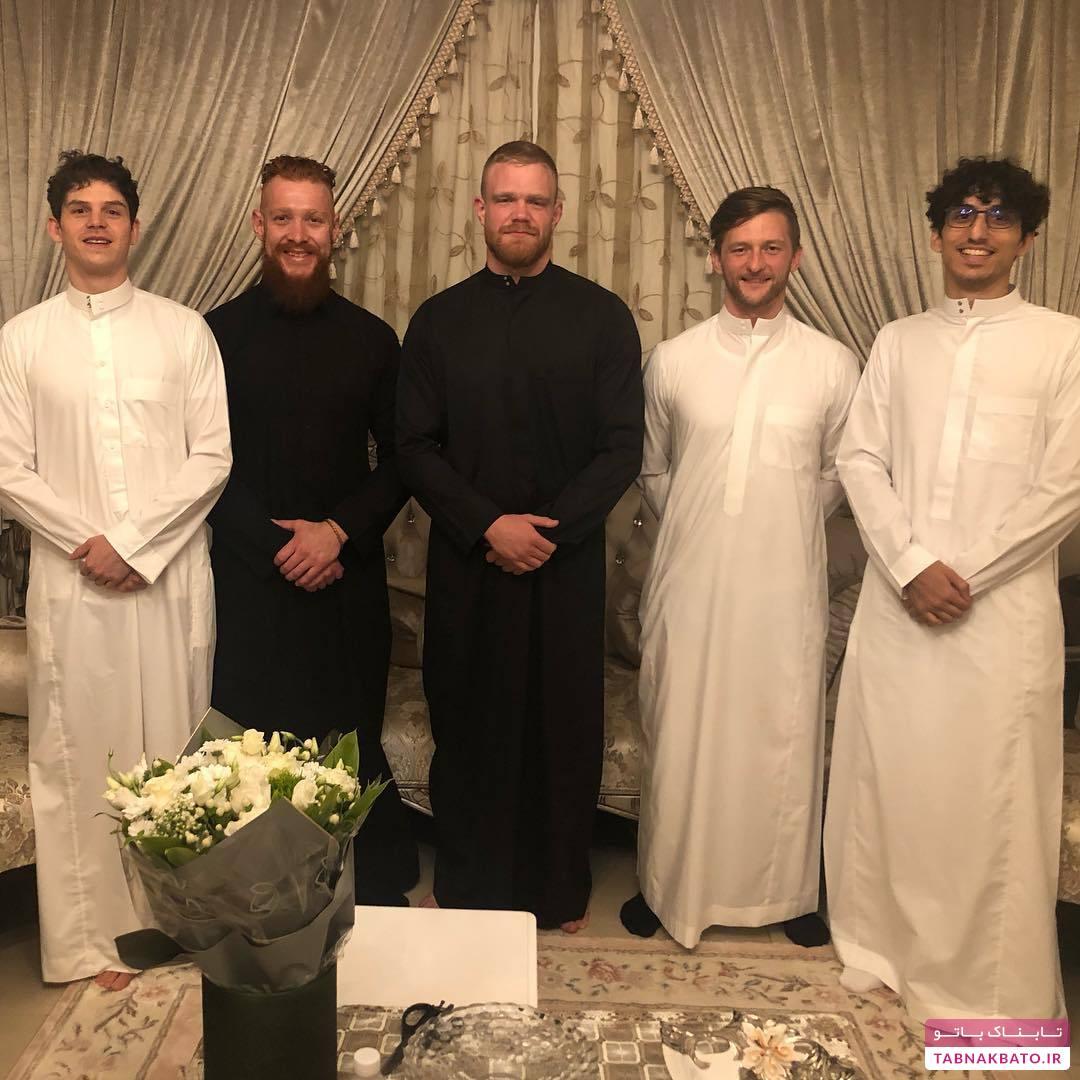 ازدواج جنجالی مدل پرحاشیه سعودی