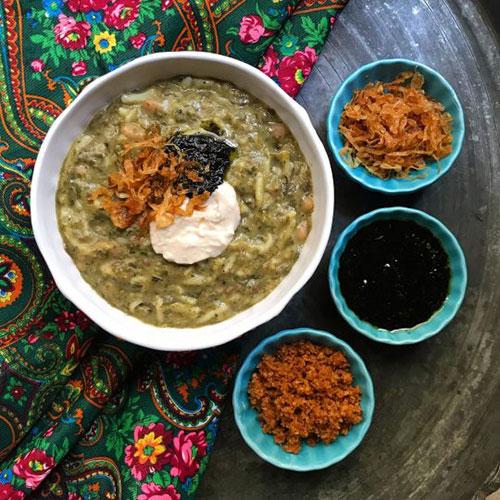 آش لوبیا سفید؛ این غذای اصیل ایرانی