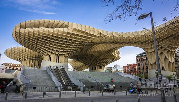 معماری مدرن متروپل پاراسول، بزرگترین سازه چوبی جهان