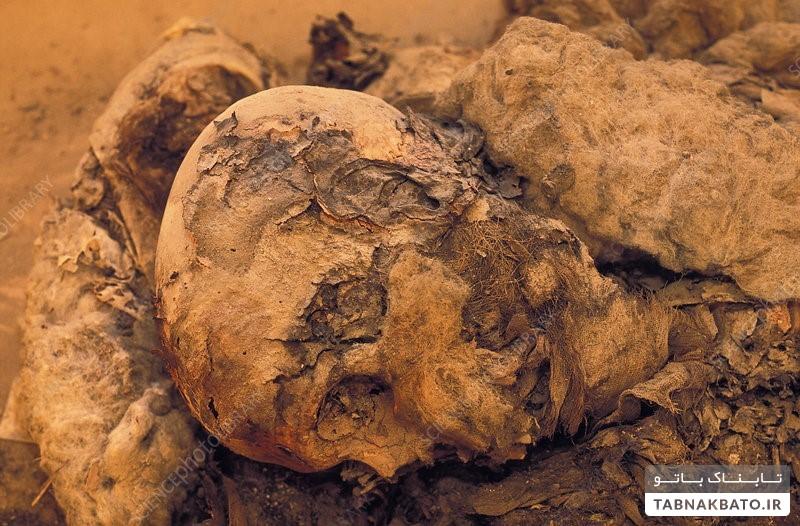 اجساد هزار ساله شیعیان «مو طلایی»