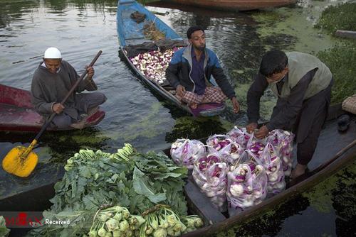 سبزی فروشیهای شناور