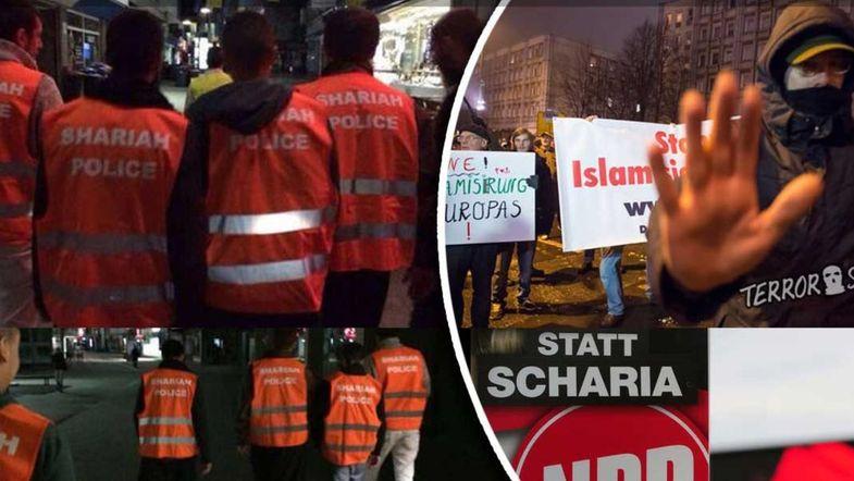 جریمه گشت ارشاد در آلمان +تصاویر