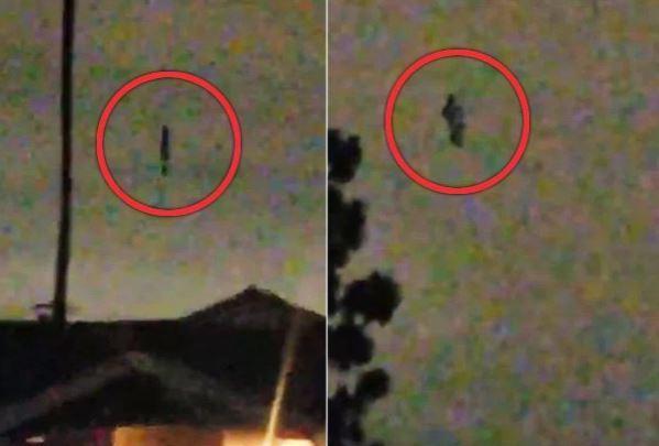 پرواز فرشته سیاه در آسمان کالیفرنیا باعث وحشت شد +عکس