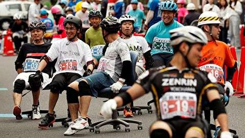 مسابقه «صندلیسواری» در ژاپن!
