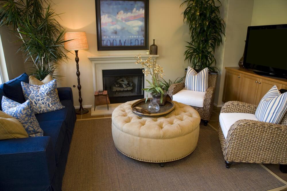 پاف مبل چیست و چگونه میتوان از آن در دکوراسیون منزل استفاده کرد؟