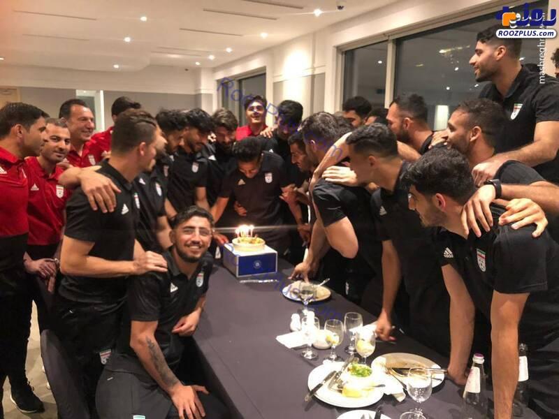 جشن تولد کاپیتان تیم ملی در سئول +عکس