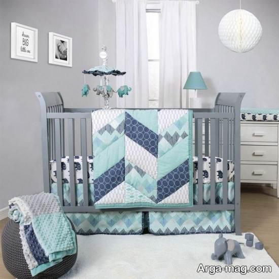 دکوراسیون اتاق نوزاد پسرانه با طرح های شیک و دوست داشتنی