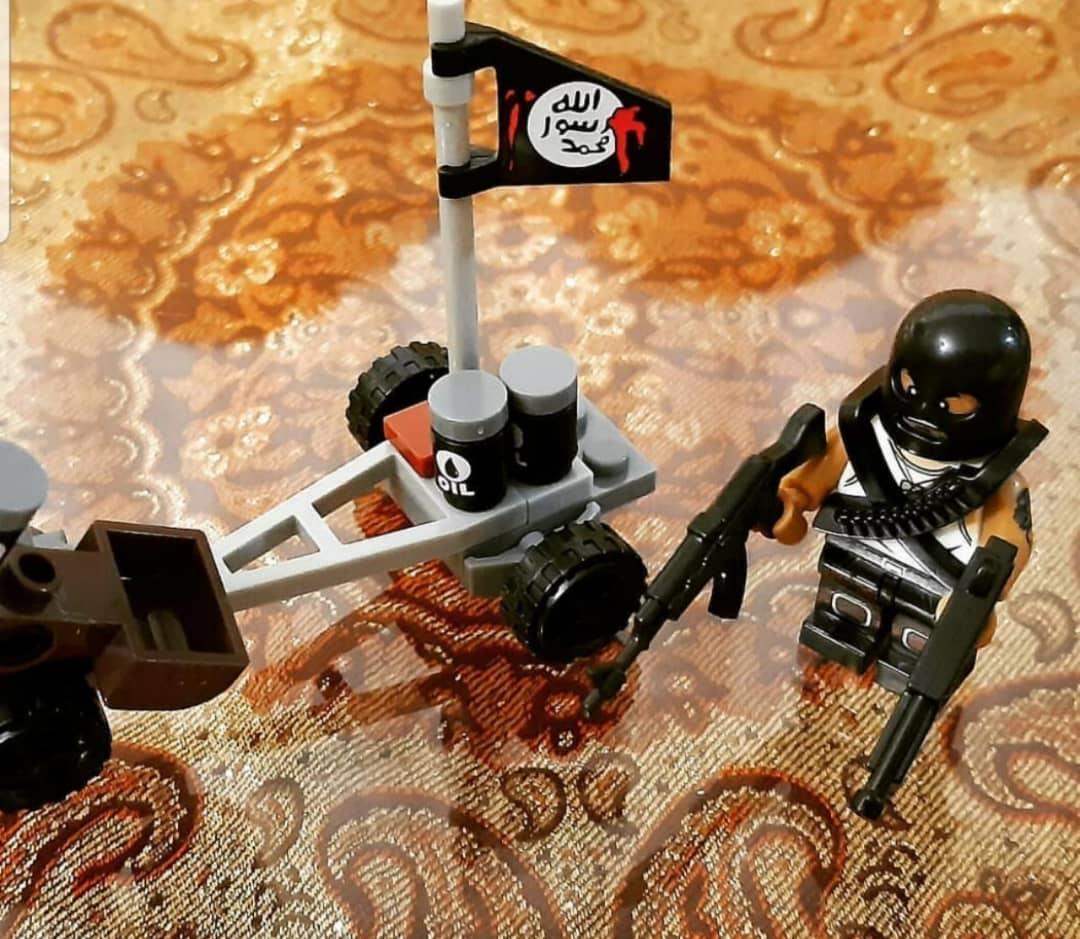 فروش اسباببازی با شمایل داعش در مشهد+تصاویر