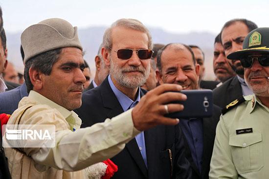 سلفی عشایر با لاریجانی