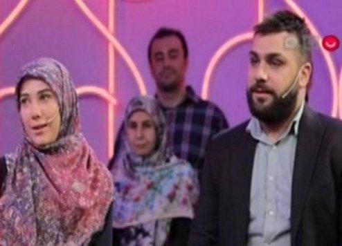 حضور یک زوج دیگر در تلویزیون حاشیهساز شد +عکس