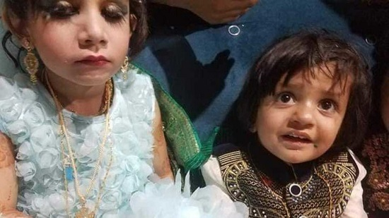 کودکان چهار ساله قندهاری نامزد کردند+عکس