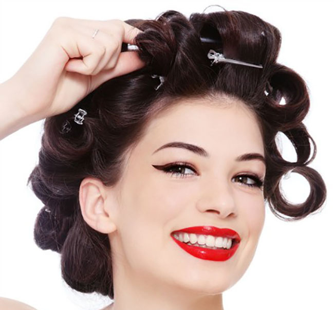 فر کردن مو با روش های ساده خانگی