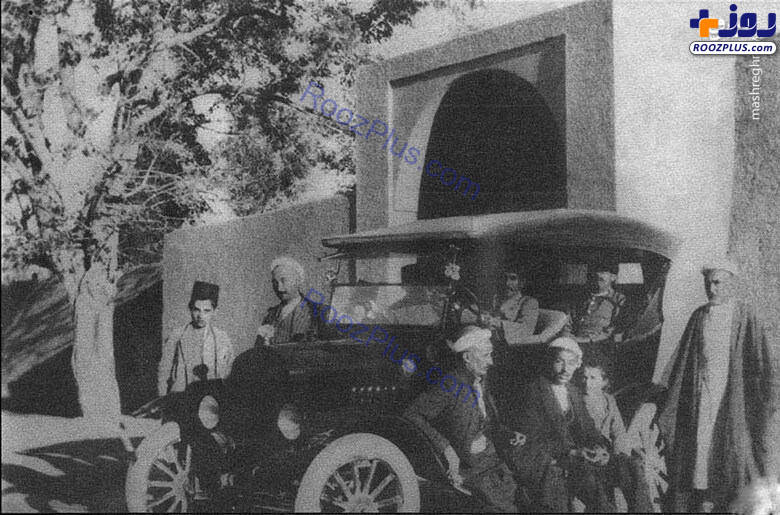 اولین ماشینی که وارد یزد شد+عکس