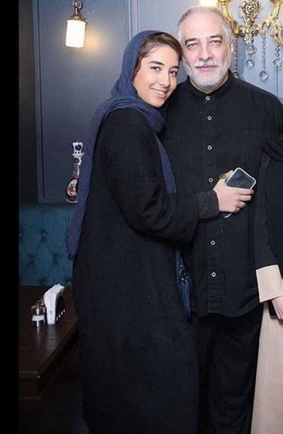 ایرج نوذری در کنار دخترش +عکس