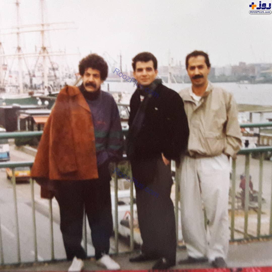 بازیگران پیشکسوت سی سال پیش در هامبورگ +عکس