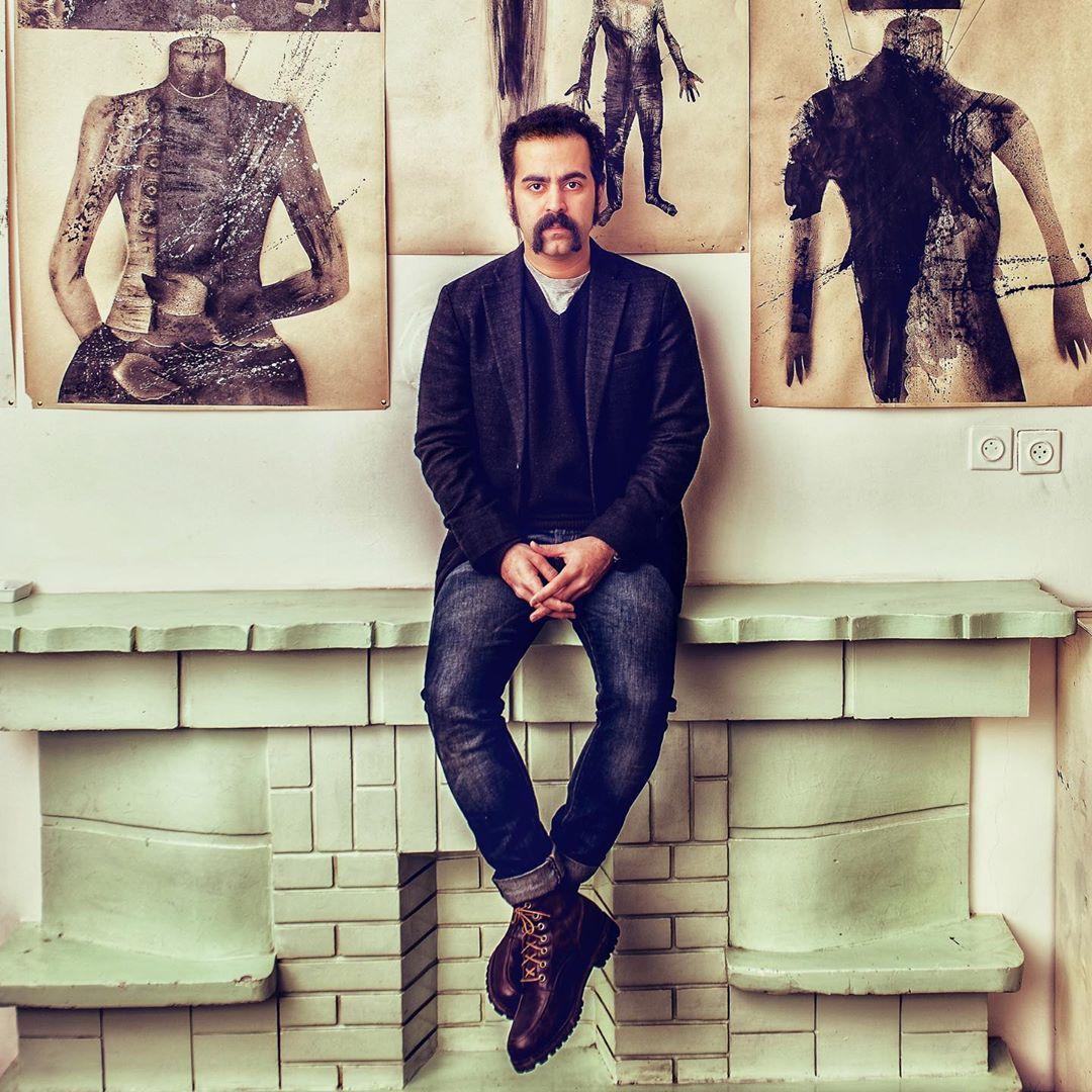 خواننده مشهور و تابلوهای نقاشیاش +عکس