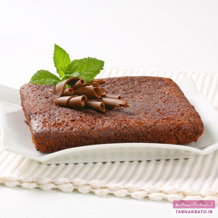 کیک شکلاتی برای بیماران دیابتی