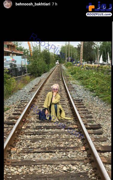 عکس خاص بهنوش بختیاری در ونکوور کانادا