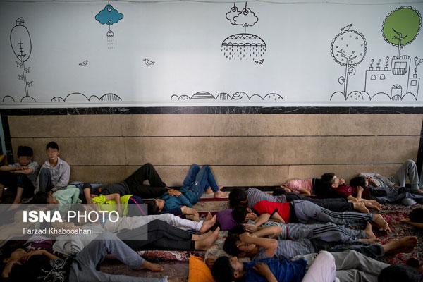 تلخ؛ مرکز پذیرش و ساماندهی کودکان خیابانی +عکس