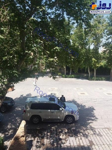 خودرو سفیر بریتانیا در وزارت خارجه ایران+عکس