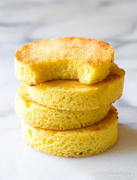 نان لیوانی کم کربوهیدرات؛ بدون گلوتن، بدون شکر و بدون لبنیات