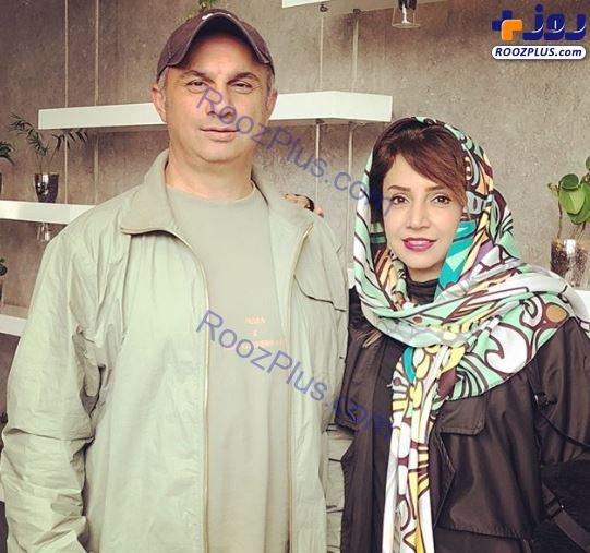 شبنم قلیخانی در کنار برادرش +عکس