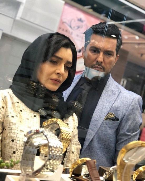 ساره بیات در کنار حامد بهداد برای یک سریال