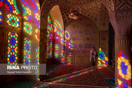 مسجد رنگها - شیراز