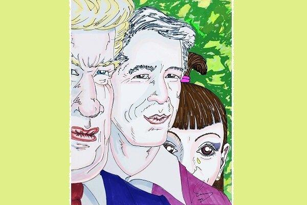 جیم کری بار دیگر برای رسوا کردن ترامپ نقاشی کشید+عکس
