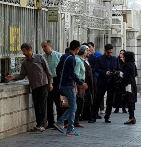 حضور دختر و داماد محمدعلی نجفی در دادگاه +عکس