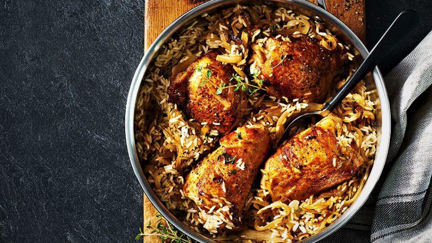بریانی مرغ کویتی، غذای خوشمزه عربی