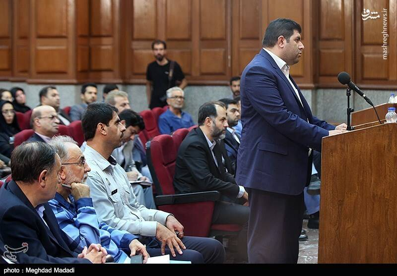 راننده محمدعلی نجفی در دادگاه+عکس