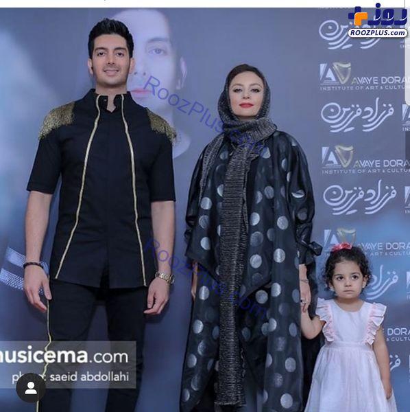یکتا ناصر و دخترش در کنسرت فرزاد فرزین+عکس