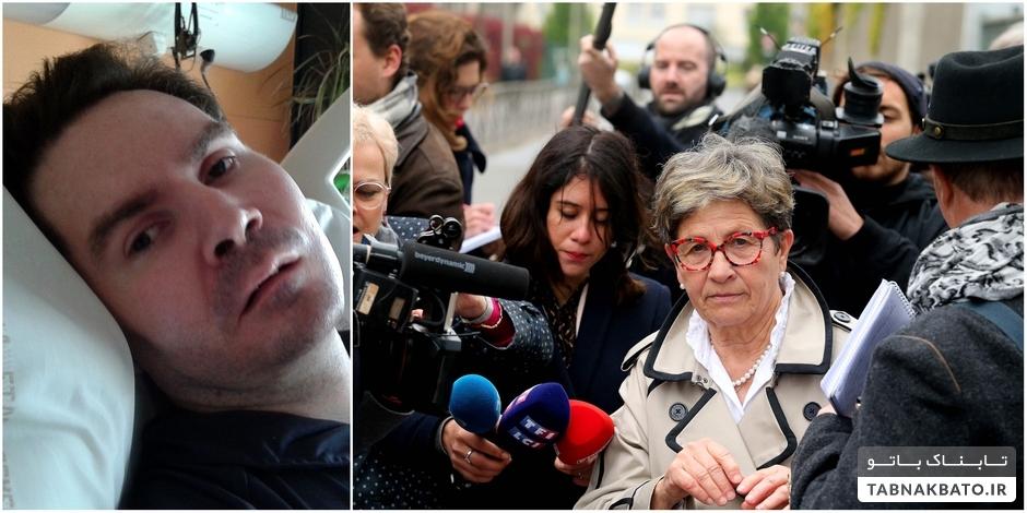 نماد مرگ خودخواسته در فرانسه به خاک سپرده شد