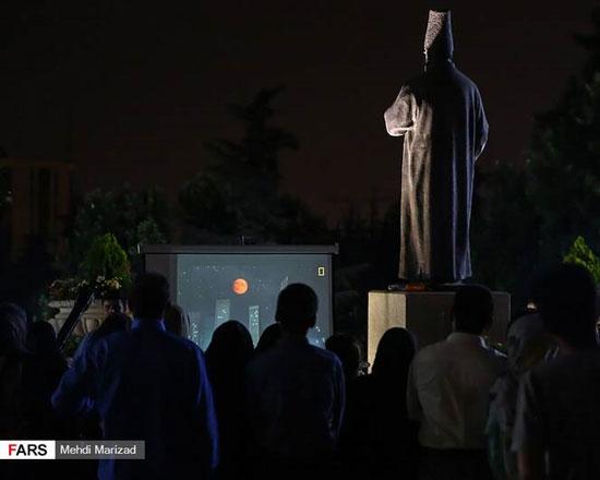 آخرین ماهگرفتگی قرن در آسمان تهران +عکس