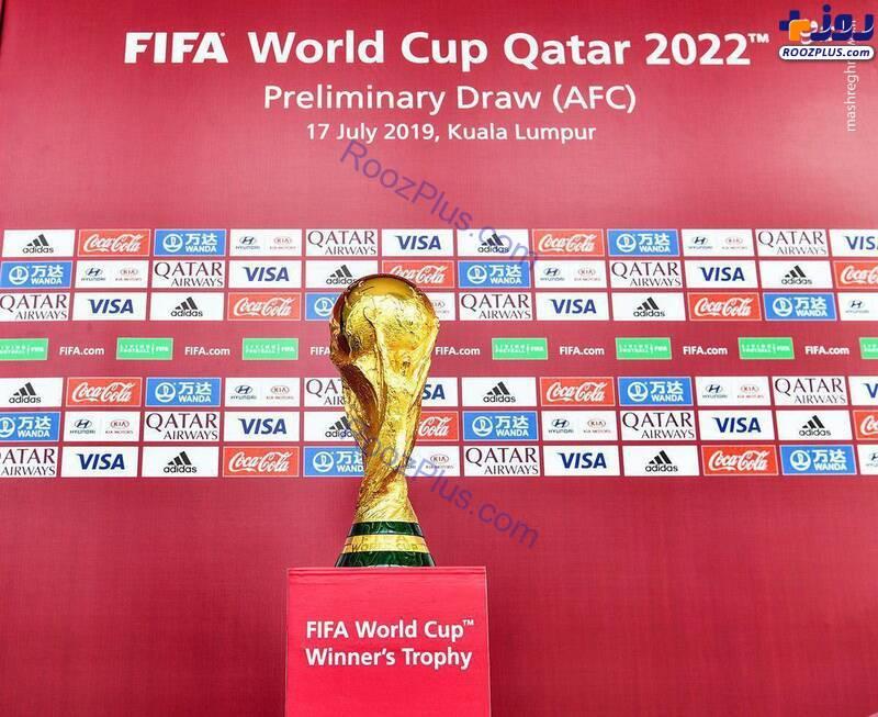 رونمایی از کاپ قهرمانی جام جهانی قطر+عکس