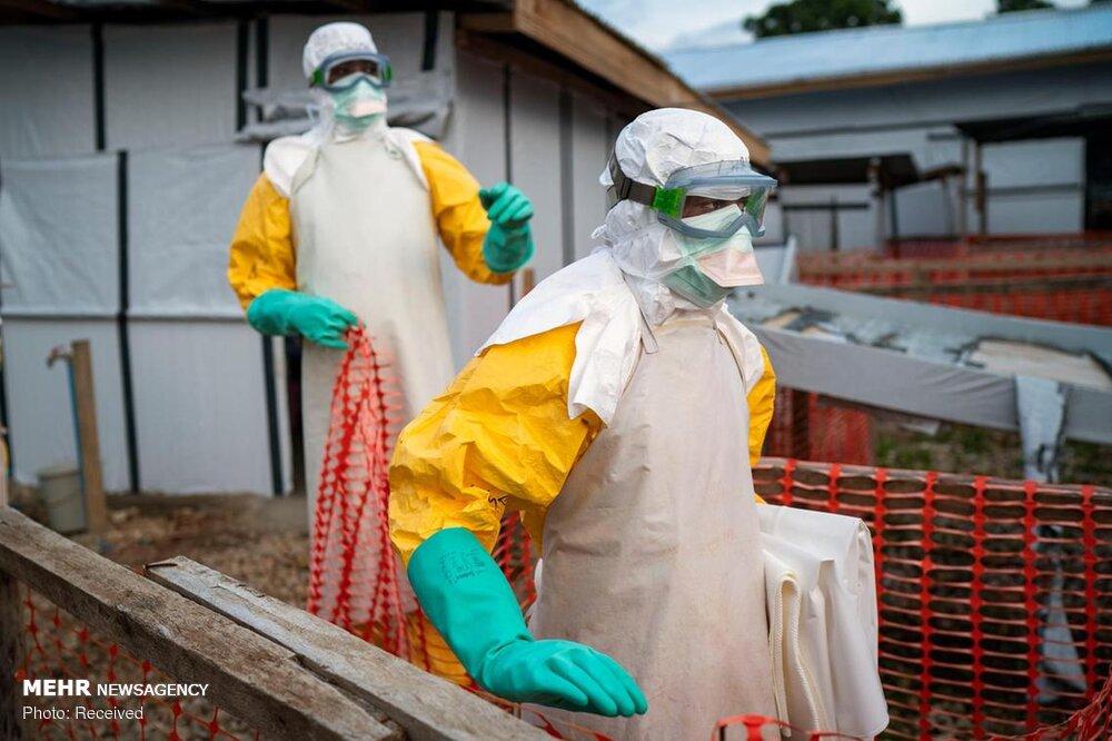 شیوع ابولا در کنگو + عکس