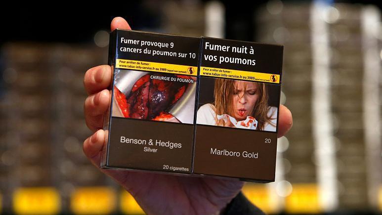 جنجال عکس «دزدی» روی پاکتهای سیگار در اروپا + عکس