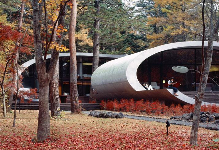 خانه مدرن و تماشایی در ژاپن