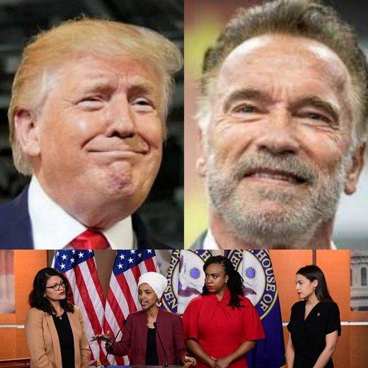 واکنش تند آرنولد به سخنان توهینآمیز ترامپ +عکس