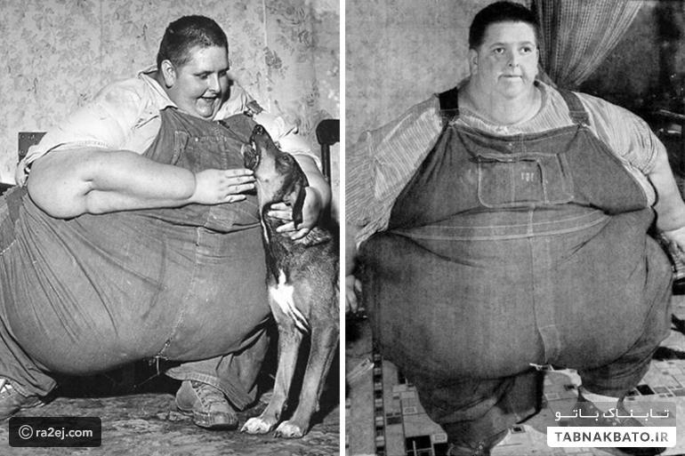 عکسهایی از گینس که از چاقی متنفرتان میکند