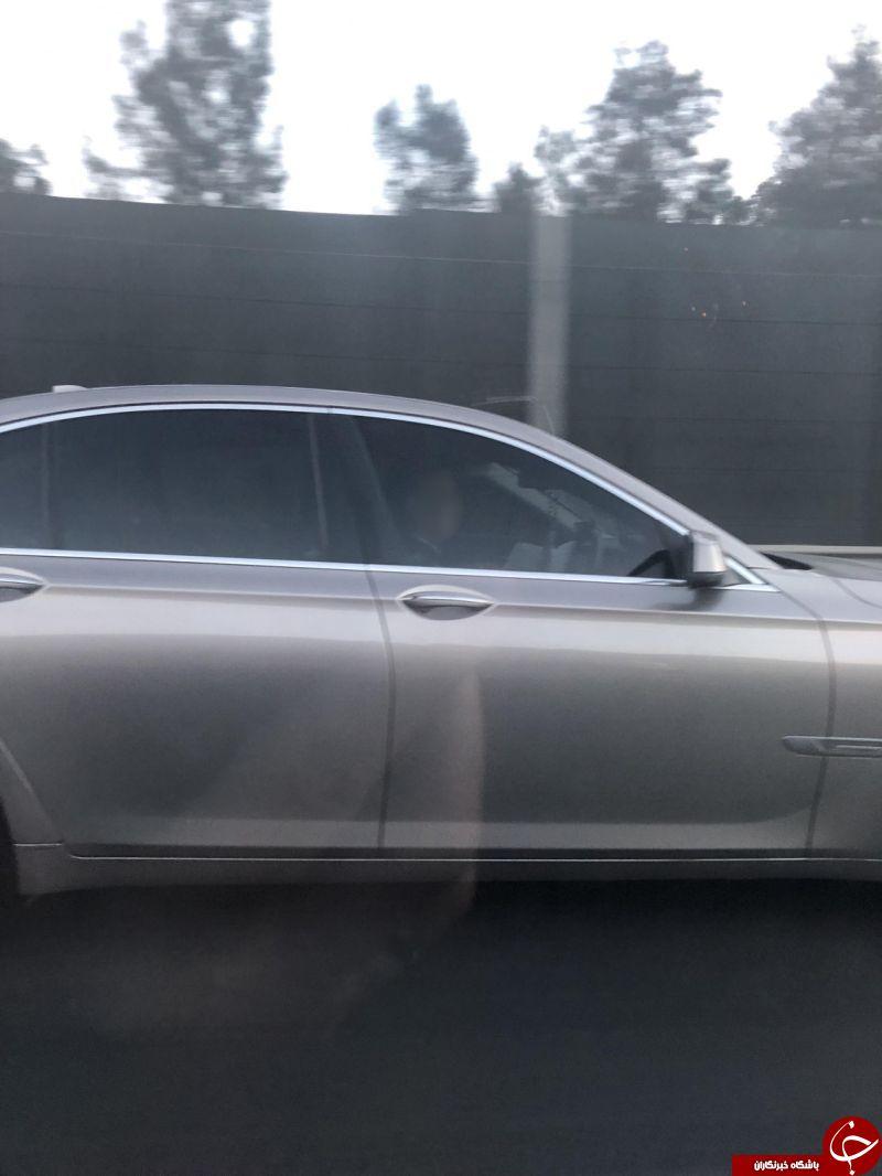 اقدام باورنکردنی مرد استرالیایی حین رانندگی در جاده+عکس