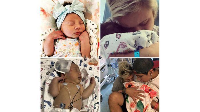 مرگ دردناک نوزاد دختر به خاطر یک بوسه +عکس