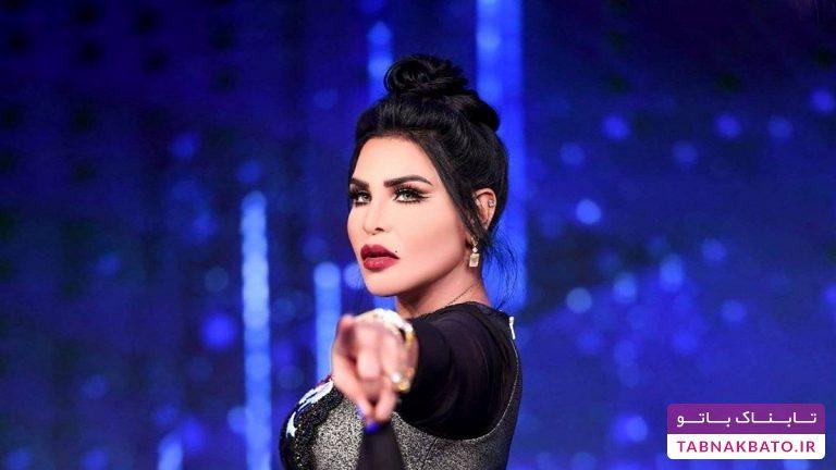 رقص خواننده اماراتی برای تاریخ در عربستان سعودی