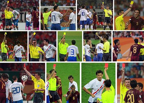 ثبت خشنترین بازی تاریخ جام جهانی فوتبال+عکس