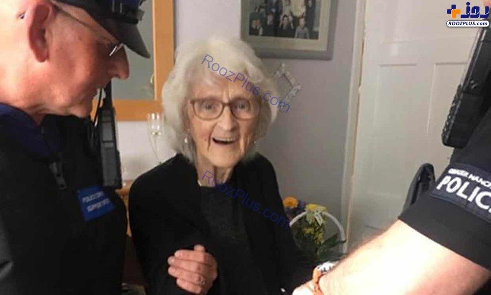 مادربزرگ ۹۳ ساله بازداشت شد+ عکس